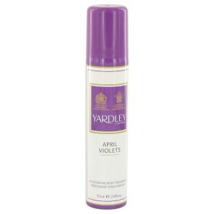 April Violets by Yardley London Body Spray 77ml