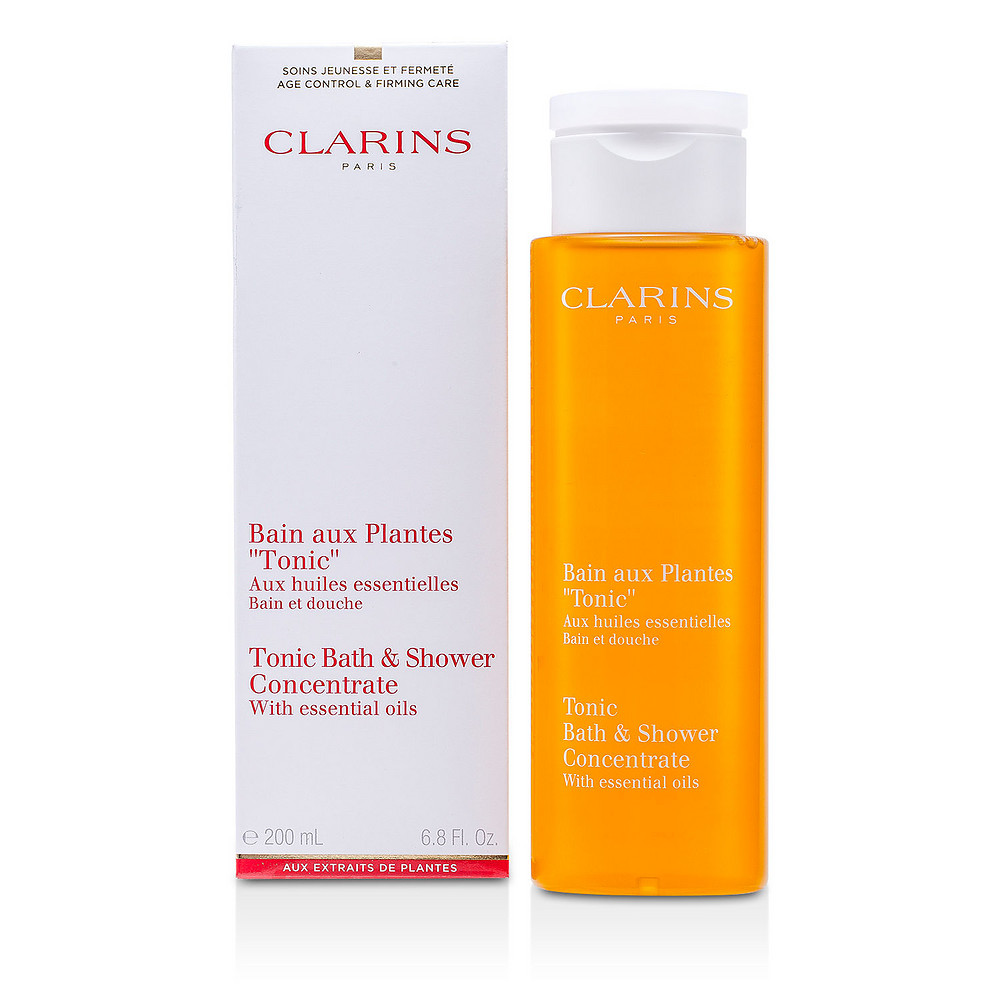 Clarins Tonic Shower Bath Concentrate Skincare 200ml