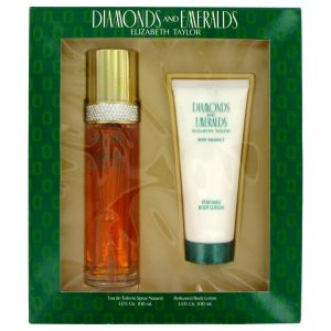 Diamonds & Emeralds Perfume by Elizabeth Taylor Gift Set
