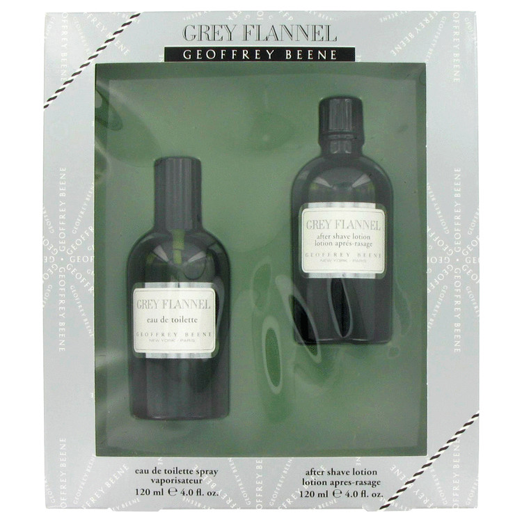 Grey Flannel Cologne by Geoffrey Beene Gift Set