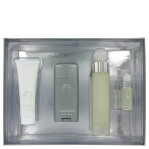 Perry Ellis 360 White Cologne by Perry Ellis Gift Set