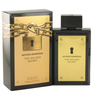 The Golden Secret by Antonio Banderas EDT Spray 200ml