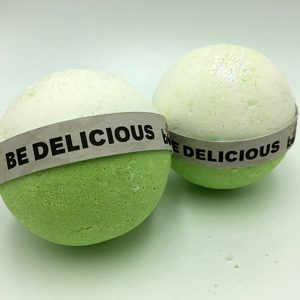 Hand Made All Natural Luxury Be Delicious Bath Bomb