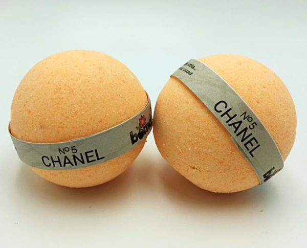 Handcrafted  All Natural Luxury Chanel No 5 Bath Bomb