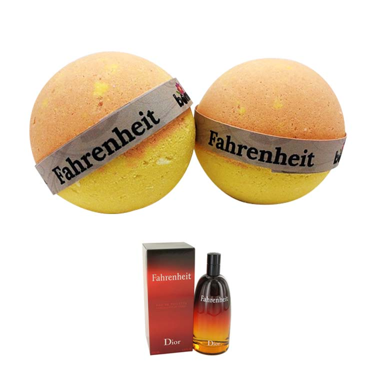Fahrenheit by Christian Dior 50ml and Bomd Bath Bomb 135g Combo