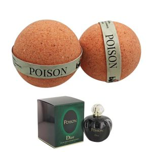 Poison by Christian Dior 50ml and Bomd Bath Bomb 135g Combo