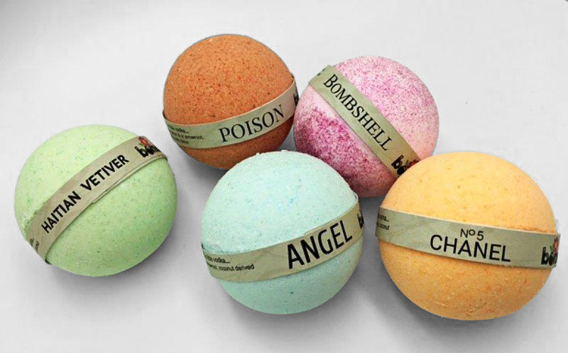 Bomd-Raw Beauty Bath Bomb Collection