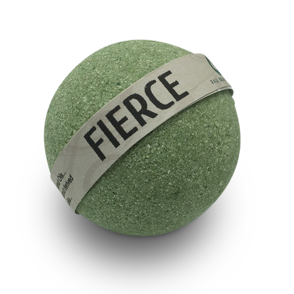 Hand Crafted All Natural Luxury Fierce Bath Bomb 135gm