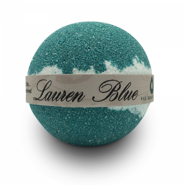 Hand Crafted All Natural Luxury Ralph Lauren Blue Bath Bomb 135gm