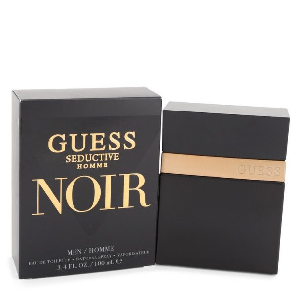 Guess Seductive Homme Noir by Guess EDT Spray 100ml