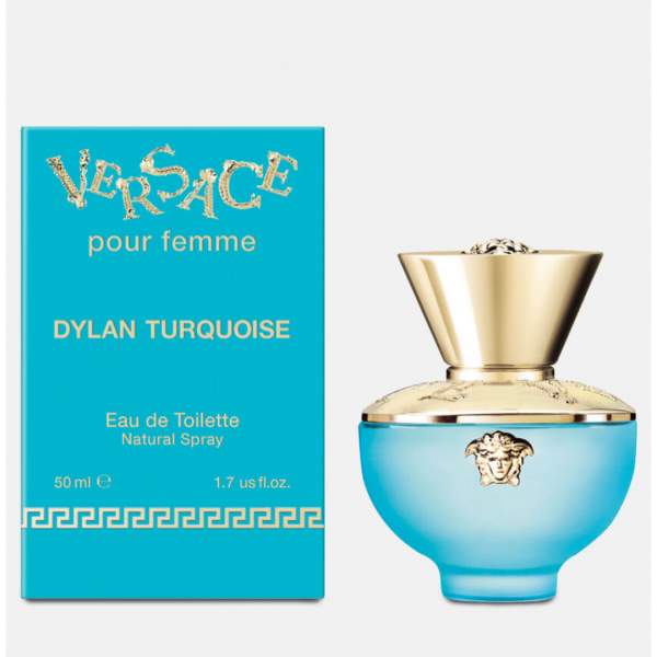Dylan Turquoise by Versace EDT Spray 50ml