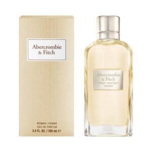 First Instinct Sheer For Her by Abercrombie & Fitch EDP Spray 100ml