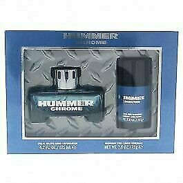 Chrome by Hummer 2 Piece Gift Set For Men