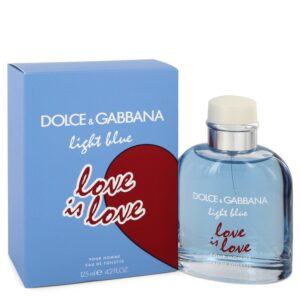 Light Blue Love Is Love Pour Homme by Dolce & Gabbana EDT Spray 125ml